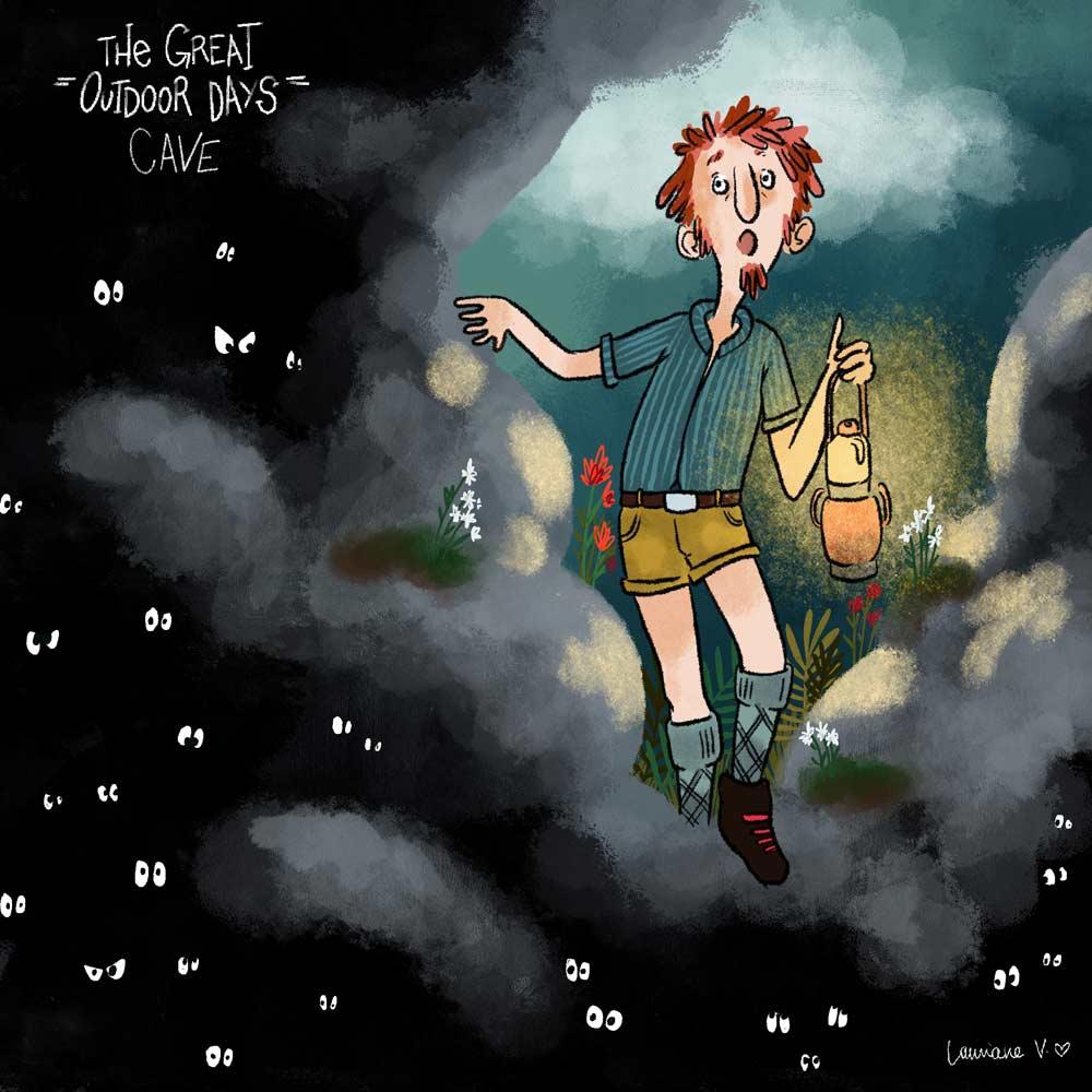 the great outdoor days - cave - Lauriane Vincent - Non libre de droits