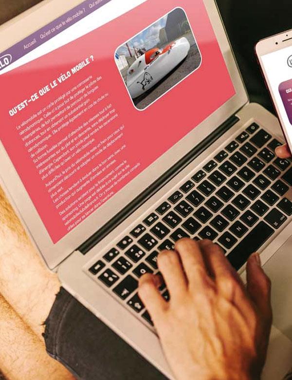 Site internet Com1Velo