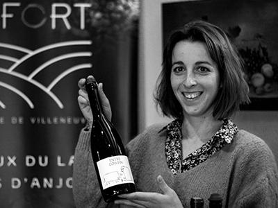 Eugénie Lefort - troisième génération au Domaine de Villeneuve